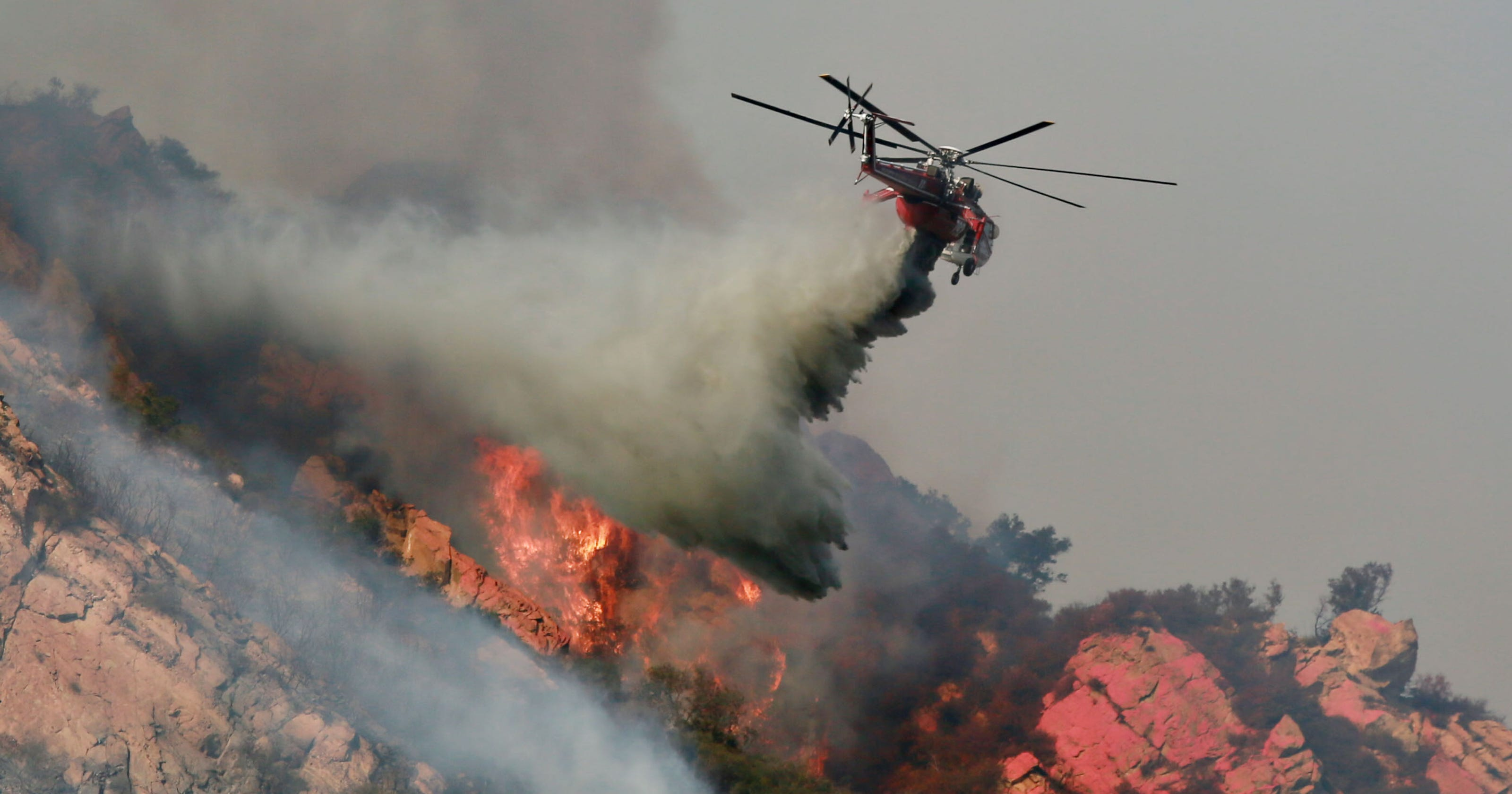 Woolsey Fire containment hard as blaze hits six communities