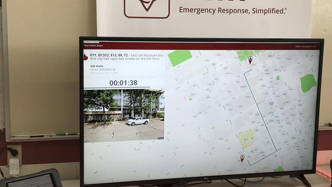 The Erie Bureau of Fire has obtained new equipment to aid in their response to emergency calls, including iPads for each front-line rig and larger monitors for each fire station, through a series of grants that were announced on Thursday morning.