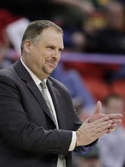 UWGB coach Linc Darner hopes his team can make a run