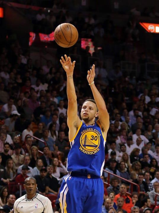 USP NBA: GOLDEN STATE WARRIORS AT MIAMI HEAT S BKN USA FL