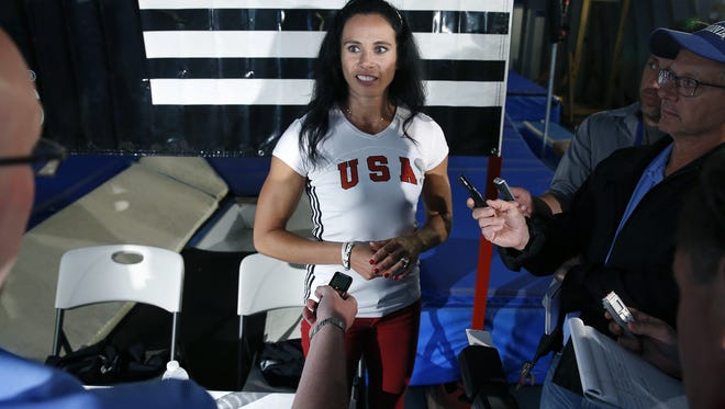 "Olympic pole vaulter Jenn Suhr has become ""quite ill the last two days,"" according to her husband and coach, Rick Suhr."