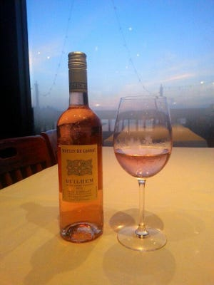 A nice, chilled Rosé is a perfect summer sipper to help you cool off.
