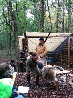 Learn how fur trading played a role in Middle Tennessee's early settlement Oct. 8 at Bledsoe Creek State Park.