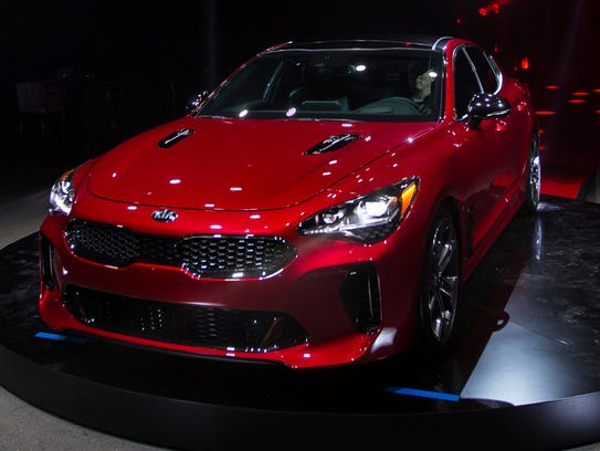 Kia Motors America unveils the 2018 Kia Stinger during