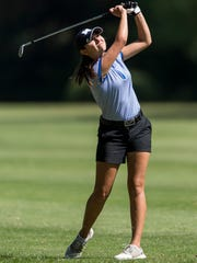 Memorial's Mallory Russell shot a team-best 77 on Saturday