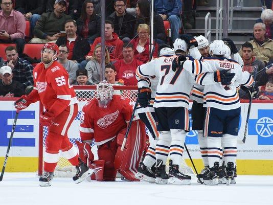 Edmonton Oilers at Detroit Red Wings