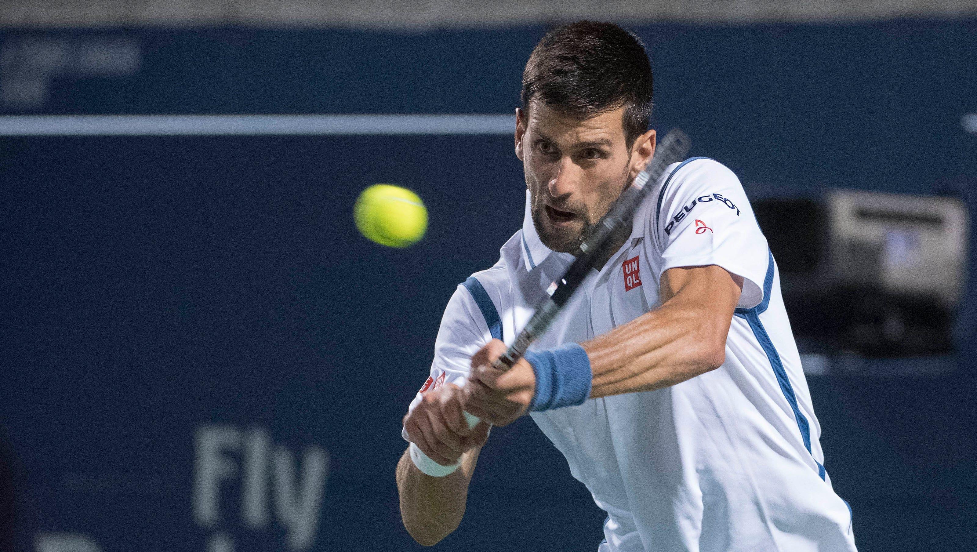 Top Ranked Novak Djokovic Beats Gael Monfils To Reach Rogers Cup Final