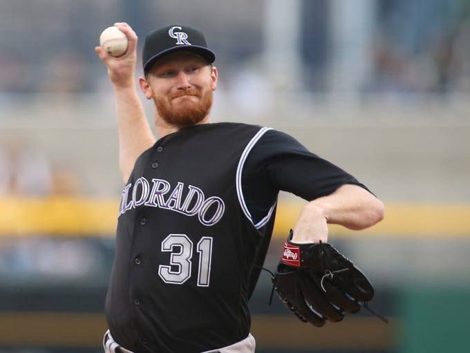 Feb. 1: The Rockies traded RHP Eddie Butler to the
