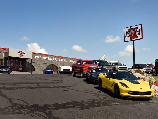 Minnesota Truck Headquarters has trucks in all price ranges on their new lot on Minnesota Highway 23 shown Friday, Aug. 11, in St. Cloud.