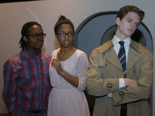 Darius Bonner as Lucas Beineke, Faith Berry as Alice Beineke, and Jeff Bell as Mal Beineke.