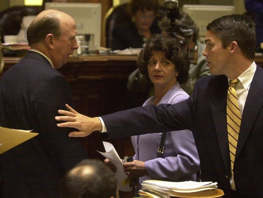 In this 2000 photo, then South Carolina House member