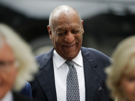 Bill Cosby arrives for pretrial hearing in his sexual