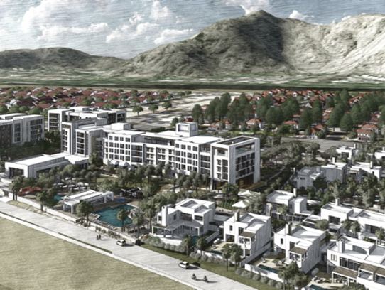 TMC Group is proposing to build a hotel and condominium