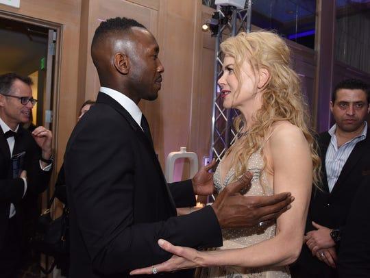 Actor Mahershala Ali and actress Nicole Kidman attend