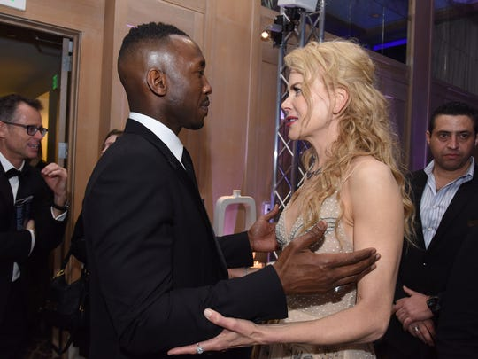 Actor Mahershala Ali and actress Nicole Kidman attend