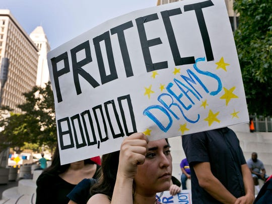 2018: A federal judge gives DACA recipients a temporary reprieve from Trump's decision to rescind the program. Congress and the president continue to discuss solutions, though funding for a border wall and threats over a government shutdown bog down talks.