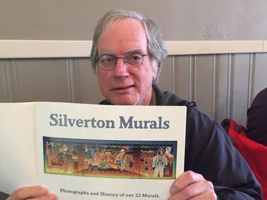 Silverton Mural Society Vice President Norm English
