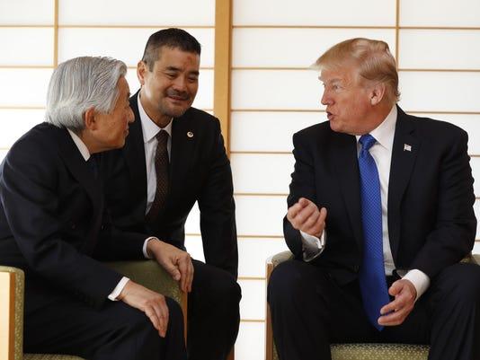 Akihito,Donald Trump