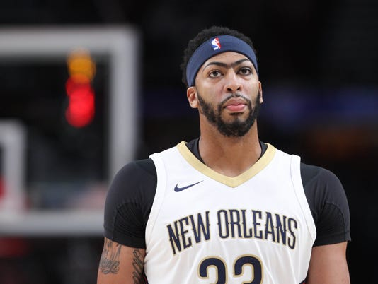 USP NBA: NEW ORLEANS PELICANS AT PORTLAND TRAIL BL S BKN USA OR
