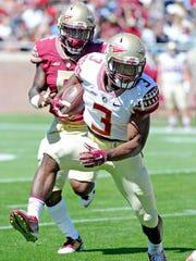 Florida State Seminoles freshman running back Cam Akers.