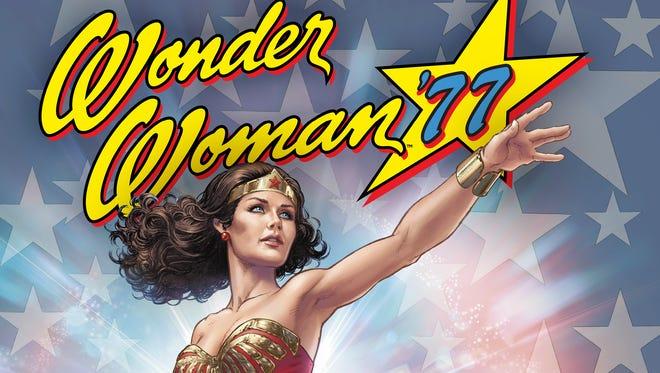 "Lynda Carter's classic take on the superheroine is back in the digital series ""Wonder Woman '77."""
