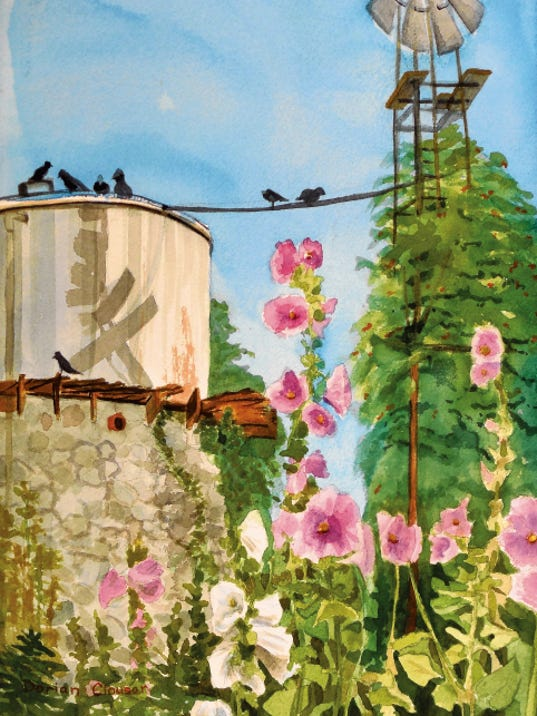 """Ardovino's Water Tower"" by Dorian Clouser."