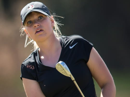 Matilda Castren has been swinging the way towards success for the Florida State women's golf team.