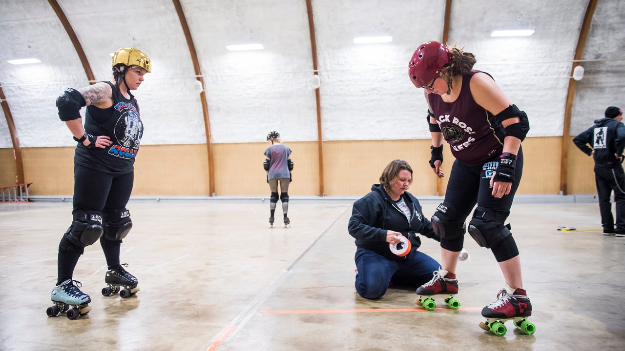 The Black Rose Rollers, the women's flat track roller derby team that has existed in Hanover since 2010, is looking for a permanent space to meet the team's needs.