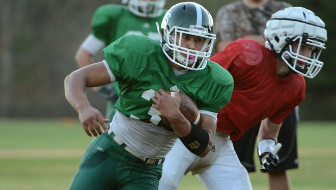 Christ School's Sage Holley is Western North Carolina top returning rusher for 2015.