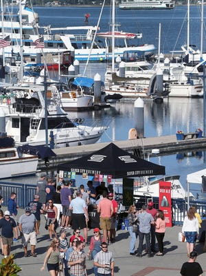 Moving the BrewFest from the streets to the boardwalk has proven popular with crowds.