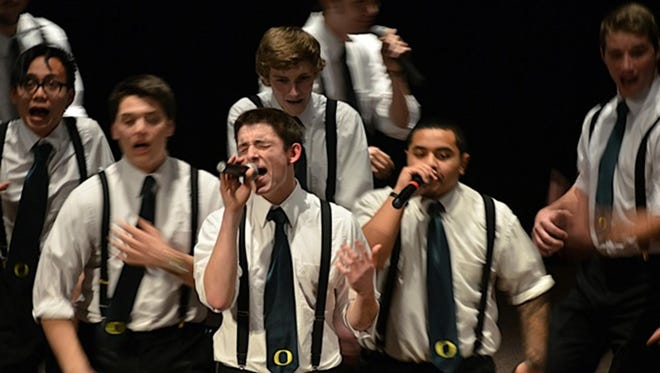 """On the Rocks from University of Oregon will sing during """"An Evening of A Cappella"""" 7 p.m. Friday, Feb. 12, at the Historic Grand Theatre."""