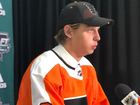 Marcus Westfalt was the Flyers' seventh-round selection.