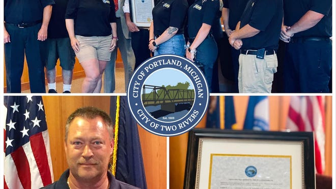 The Portland City Council honored retiring Portland Ambulance Director Phil Gensterblum with a proclamation at its meeting on Monday, July 6.