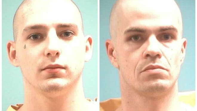 Zachary Savoie and Joshua Walton have escaped from a work center on the Mississippi Gulf Coast.