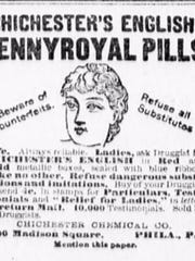 Several patient medicine advertisements appear in most