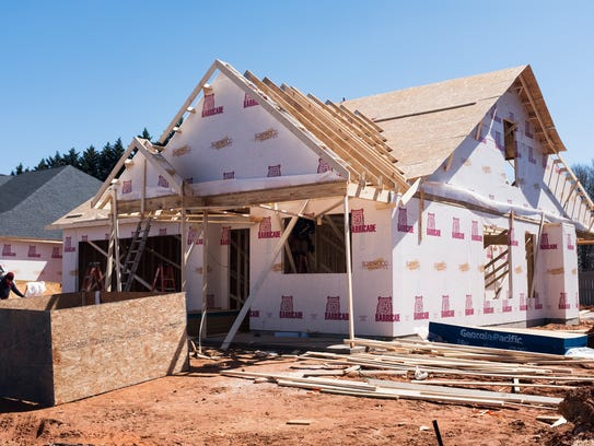 Construction on new homes is underway at Rosewood Communities