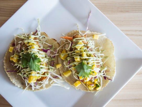 The Mahi Mahi Tacos at the Gastro Grub and Pub on Wednesday,