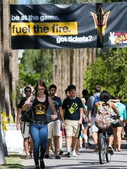 If you're an Arizona State University student who's into biking, you picked the right school.