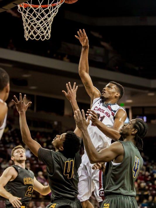 NCAA Basketball: Coker at South Carolina