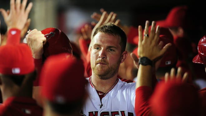 Jett Bandy batted .234 with eight homers and 25 RBI in 70 games for the Angels last season.