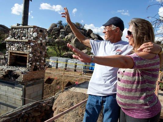 Groundbreaking kicks off journey to rebuilding Yarnell
