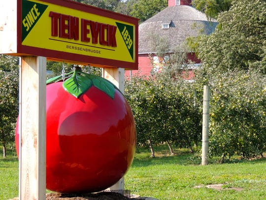 Ten Eyck orchard is now tended by a third generation.