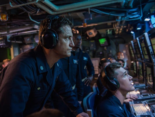 Movie review: 'Hunter Killer' so full of military action stereotypes it's borderline parody