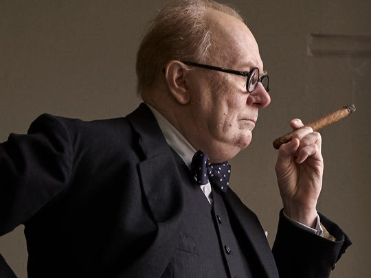 "Gary Oldman stars in ""Darkest Hour."""