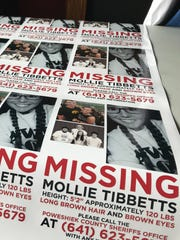 Life Now Designers in Brooklyn, Iowa, printed car magnets July 22, 2018, to aid in the search for Mollie Tibbetts, 20, of Brooklyn, who last was seen July 18.