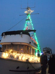 Boat owners delight in decorating their boats for the