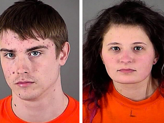 Zachary Setina and Ashley Sobczak were charged in connection