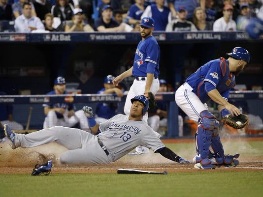ALCS Royals Blue Jays Baseball (2)