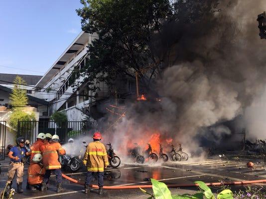 EPA INDONESIA BOMB BLAST WAR ACTS OF TERROR IDN EA