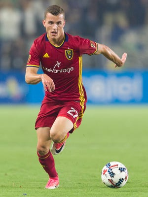 On loan from Liverpool, Brooks Lennon's time at Real Salt Lake could be brief.
